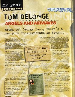 Tom in Kerrang!