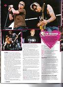 Travis in Kerrang Magazine