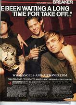 Angels And Airwaves on Kerrang