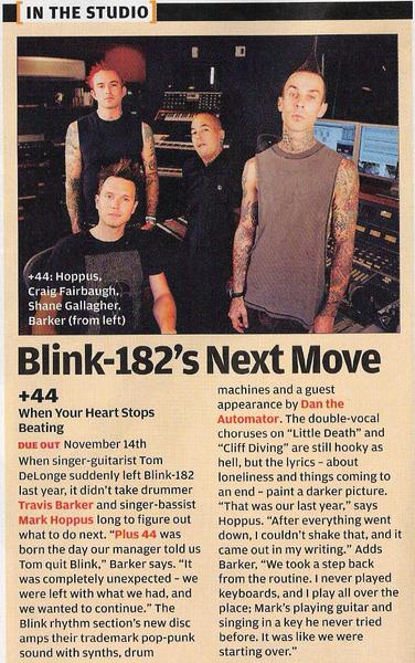 Plus 44 on Rolling Stone