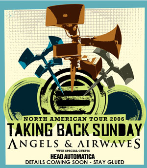 North American Tour with Taking Back Sunday