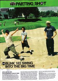 blink-182 swing into the big time