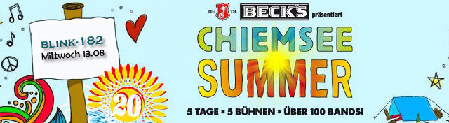 Chiemsee Summer - blink-182 - 13/08/2014