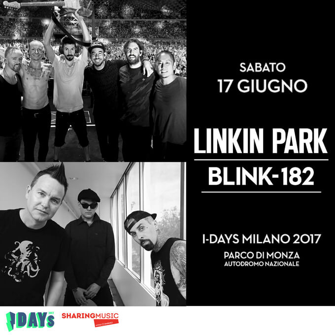 blink-182 in Italia! I-Days 2017